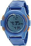 Best Puma Watch Bands - PUMA Men's PU911161003 Vertical Blue Digital Display Quartz Review