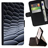 Planetar Colorful Pattern Flip Wallet Leather Holster Protective Skin Case Cover For SAMSUNG Galaxy S5 V / i9600 / SM-G900 ( 3D Honeycomb Graphite Carbon Print )