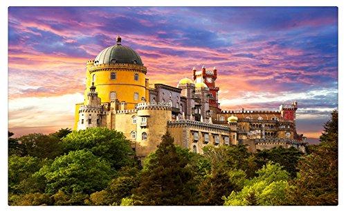 Portugal Pena Palace Sintra ciudades característica Tourist ...