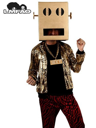Rubie's Costume Lmfao Robot Pete Shuffle Bot Party Rock Anthem Costume, Multi, Standard]()