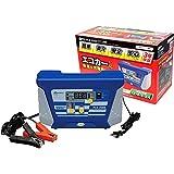 メルテック バッテリー充電器(HV車対応) DC12V用 定格8A エコモード機能付 長期保証3年・アタッチメントクリップ付 Meltec PCX-2000