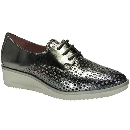 Cuña 5 Goma Color Mujer Anciano Tekila 4255 Hueso Zapato Para 3 Casual Cm q6a8aFwtpx