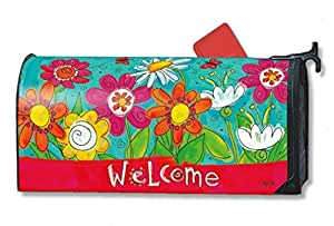 Magnet Works Welcome Blooms Welcome Mailwrap #01274
