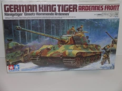 Amazon ww ii german king tiger tank ardennes front plastic ww ii german king tiger tank quotardennes frontquot plastic model publicscrutiny Gallery