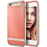 iPhone 6S Plus Case, Caseology [Wavelength Series] Slim Fit Military-Grade Drop Protection [Coral Pink] for Apple iPhone 6S Plus (2015) & iPhone 6 Plus (2014)