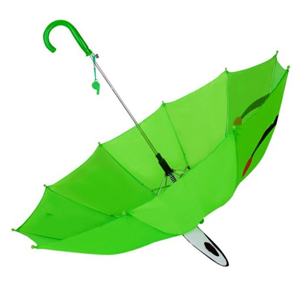 Fashionista Kids Animal Umbrella Sun Rain Protection Windproof (Leaping Frog) by Fashionista Kids (Image #2)