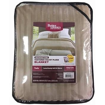 Amazoncom Better Homes and Gardens Velvet Plush Blanket
