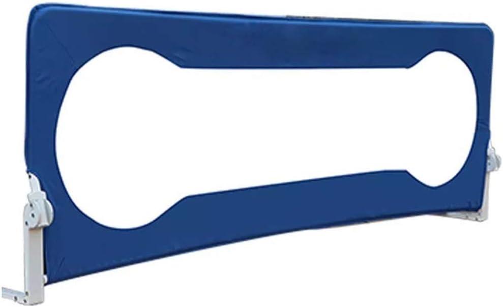 GDNA ベビー落下防止ベッドガードレール子供ベッドバッフルベビーベッドサイドベッドレールフェンス高めベッドガード (Color : B, Size : 2.0M)