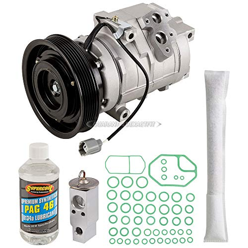 - AC Compressor w/A/C Repair Kit For Honda Odyssey Pilot Acura MDX - BuyAutoParts 60-80257RK New