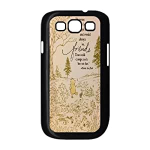 Diy Winnie the Pooh quote Cover Case, DIY Hard Back Phone Case for Samsung Galaxy S3 I9300 Winnie the Pooh quote