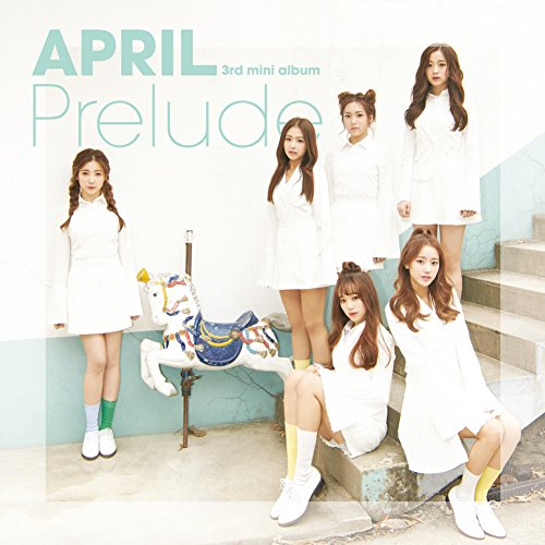 (APRIL - Prelude (3rd Mini Album) CD+Photobook+Photocard+Folded Poster)