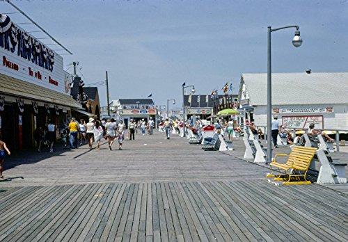 Roadside America Photo Collection | 1978 Boardwalk/beach, Point Pleasant, New Jersey 3 | Photographer: John Margolies | Historic Photographic Print -