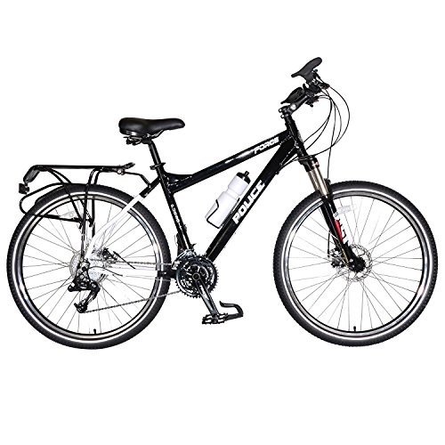 Freeride Bike Frames - Force Pursuit Police Bicycle, 27.5 inch wheels, 19 inch frame, Black