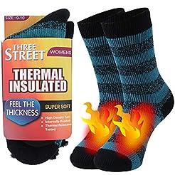 Warm Thermal Socks, Three street Unisex ...