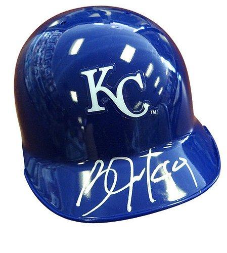 - Bo Jackson Signed Kansas City Royals Mini Helmet - Certified Genuine Autograph By PSA/DNA - Autographed Baseball