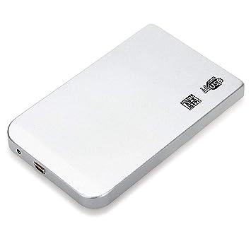 uu19ee Caso De Caja Externa para Disco Duro HDD USB 3,0 Ultra Delgada Sata