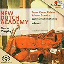 Richter/ Stamitz: Early String Symphonies, Vol. 2 [Hybrid SACD]
