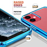 Mkeke Compatible with iPhone 11 Case, Clear Cover