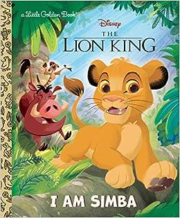 Buy I Am Simba Disney The Lion King Little Golden Book