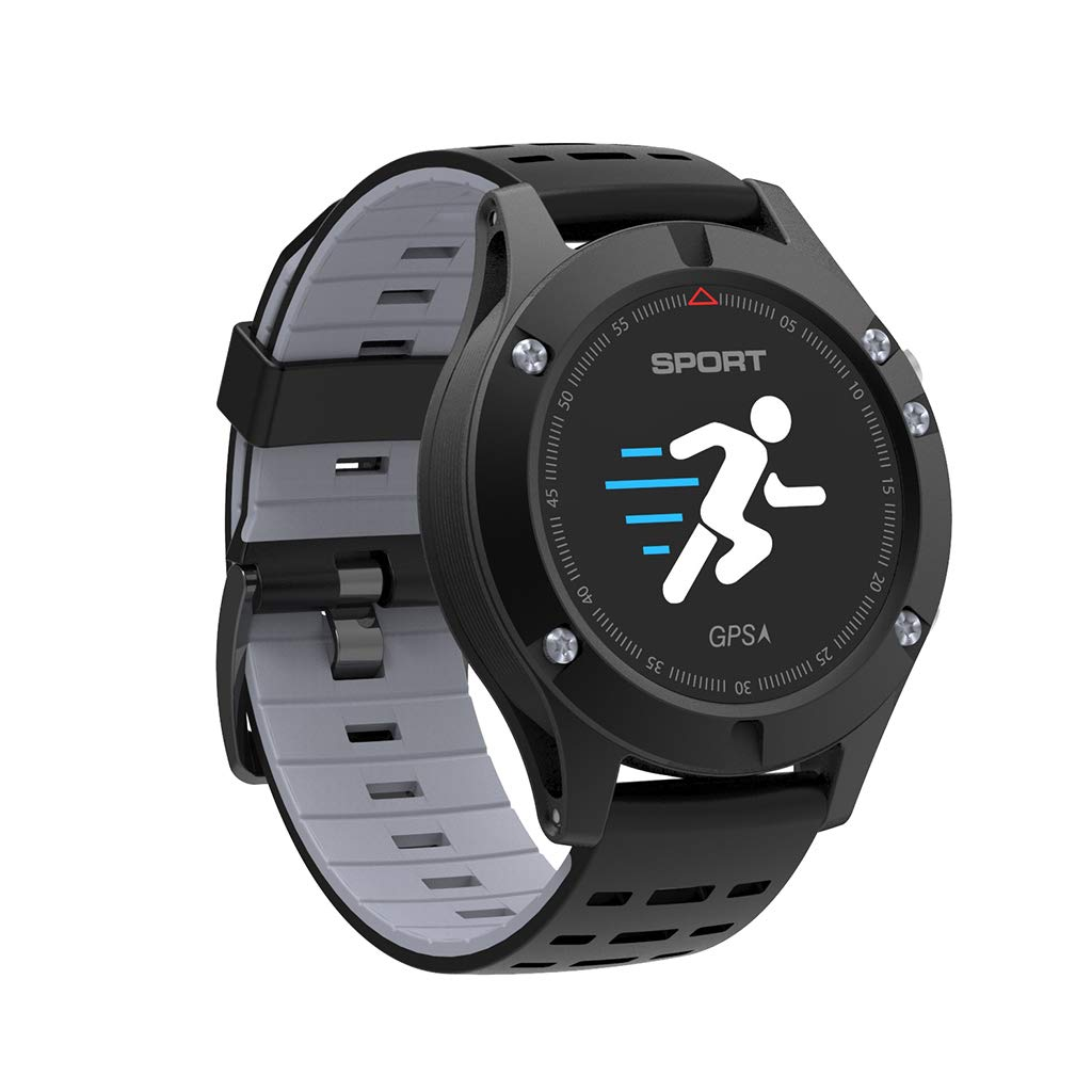 Fitness Tracker, GPS Positioning Sports Watch - Real-Time Altitude/Temperature/Speed/Heart Rate Monitoring Bracelet - Waterproof Smart Sports Watch