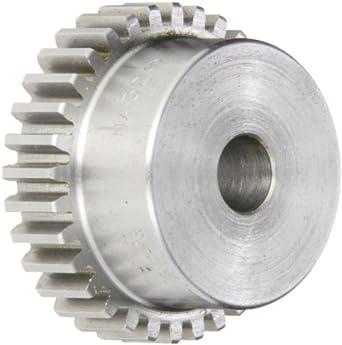 Boston Gear Spur Gear, 14.5 Pressure Angle, Steel, Inch, 20 Pitch