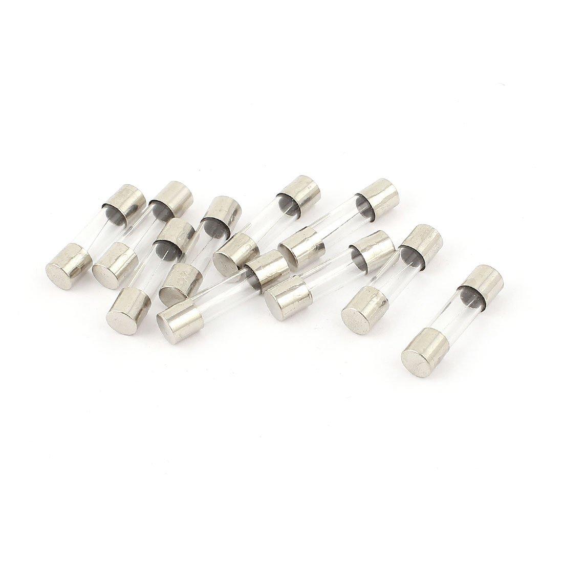 fusion rapide fusibles verre Tubes action rapide 5mm x 20mm sourcingmap/® 10Pcs 250V 4A