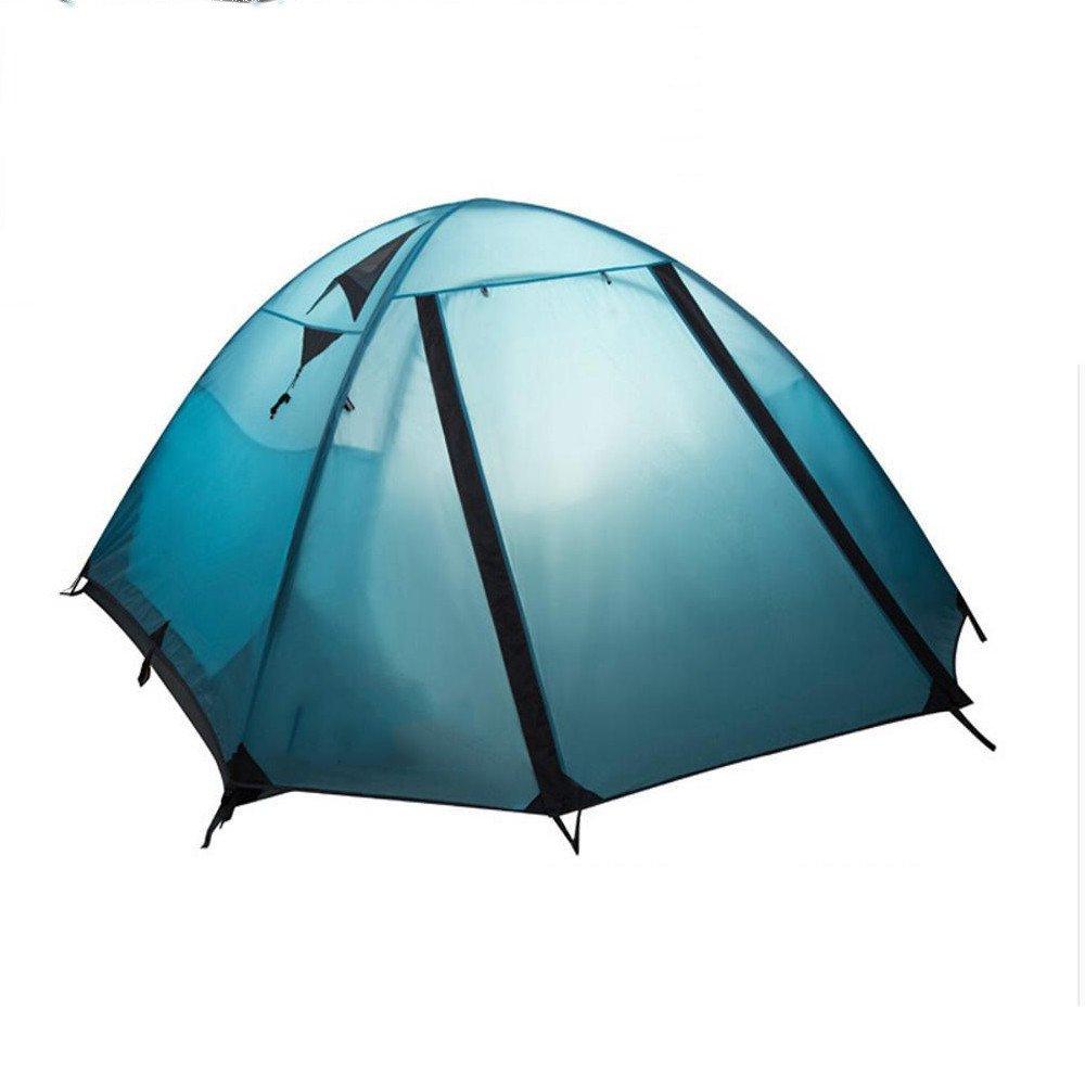 Kaxima Regen-Proof Warm Doppel Zelt camping Bergsteigen