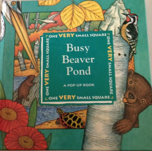 Busy Beaver Pond: A Pop-Up Book (One Very Small Square Series)