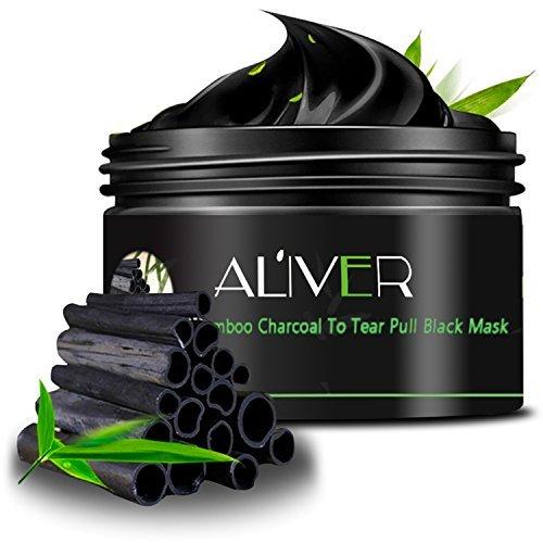 ALIVER-Black-Mask-Charcoal-Peel-off-Mask-Natural-Blackhead-Remover-Gel-Challenge-34-Ounce