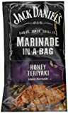 jack and ginger - Jack Daniel's Marinade in a Bag, Honey Teriyaki, 12 Ounce