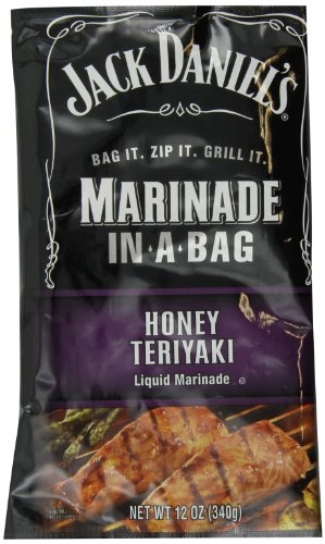Jack Daniel's Marinade in a Bag, Honey Teriyaki, 12 (Fish Steak Sauce)