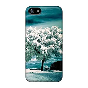 Quality SuperCurry Case Cover With White Tree Nice Appearance Compatible With Iphone 5/5s