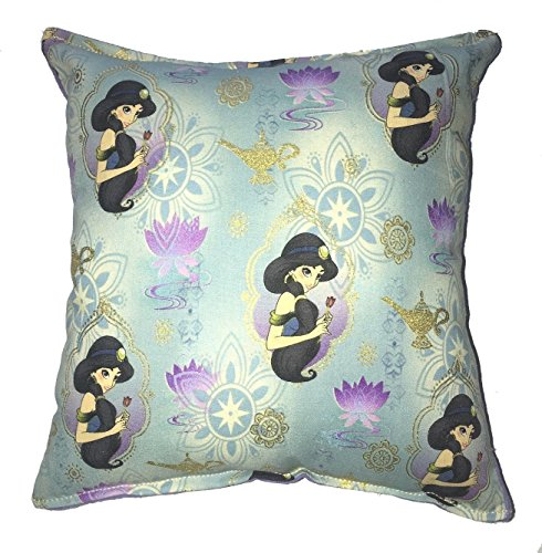 Jasmine Pillow Disney Aladdin Princess Jasmine HANDMADE In