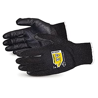 Dexterity High Abrasion and Cut Resistant Glove with Foam Nitrile Palm - Touchscreen Compatible - S13NGFN