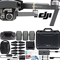 DJI Mavic Pro Fly More Combo with Custom Nanuk Waterproof Hard Case (Black)