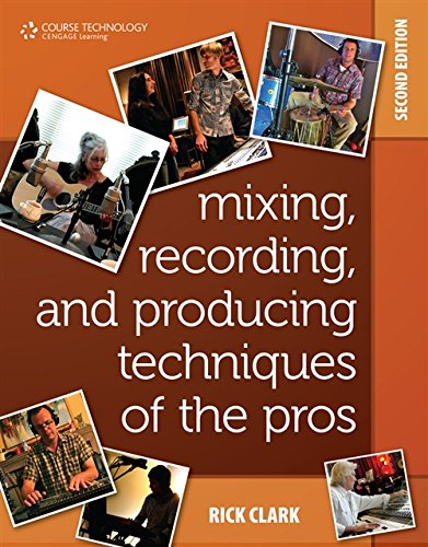 Mixing, Recording, and Producing Techniques of the Pros, 2/e : Insights on Recording Audio for Music, Video, Film, and Games (Paperback)-cover