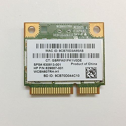 RT3592BC8 Wireless Wlan A/G/N 2.4Ghz/5Ghz Wifi 300M & Bluetooth 3.0 Half Mini Pcie Card SPS: 630813-001