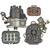95 honda accord ex distributor - Parts Player New Distributor For Honda Accord EX 2.2 F22B1 F22B2 1994 1995 W/ Two Plugs