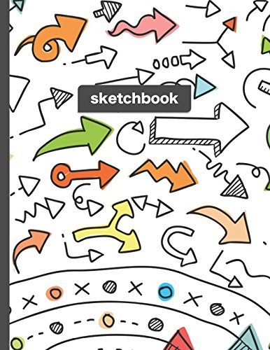 Sketchbook  Point The Way   Blank Drawing And Sketching Paper For Everyday Artists