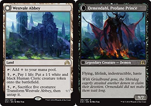 Magic: the Gathering - Westvale Abbey // Ormendahl, Profane Prince (281/297) - Shadows Over Innistrad