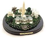"""Oval Washington, D.C. Monuments Desk Statue (5"""")"""