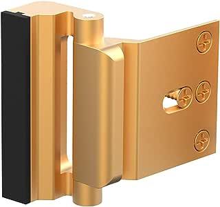 """Door Reinforcement Lock ,3"""" Security Door Lock for Kids,Home Child Proof Door locks Withstand 800 lbs for Inward Swinging Door ,Easy to Install."""