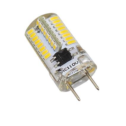 reelco 6-Pack Mini G8 T4 Base Bi-Pin – Bombilla LED, 3