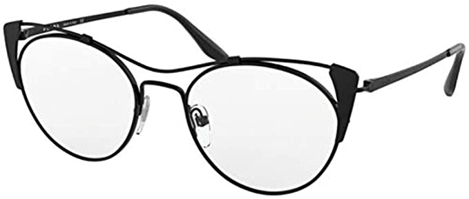 36bca4d85f262 Image Unavailable. Image not available for. Color  Prada CONCEPTUAL PR58VV Eyeglass  Frames 2641O1-51 ...