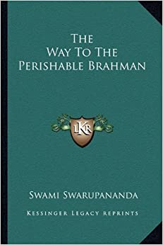 Book The Way to the Perishable Brahman