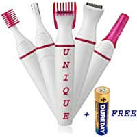 unique enterprise Private Part and Underarms/Eyebrow Painless Trimmer for Women