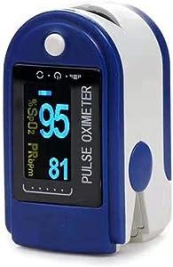 CharmingNight Automatic Arm Blood Pressure Monitors Digital Finger Oximeter Pulse Oximeter Display Oximeter A Finger Health Diagnostic Monitor Tool Medical Equipment
