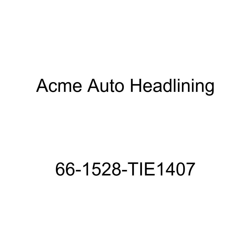 Pontiac Tempest 4 Door Wagon 8 Bow Acme Auto Headlining 66-1528-TIE1407 Dark Brown Replacement Headliner