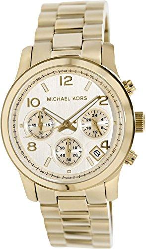 43e5246945bf Michael Kors Midsized Chronograph Gold Tone Womens Watch MK5055 ...