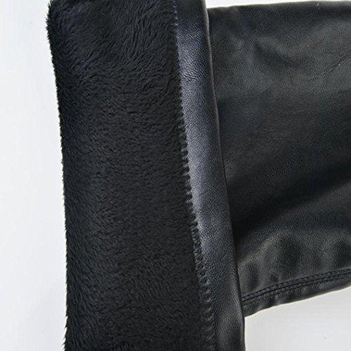 Sexy Slim LandFox Boots Stivali Donne Alti Stivali Alti Autunno Faux Ginocchio Sopra Denso Tacchi Tacchi il Allungare Stivali Inverno q05wt